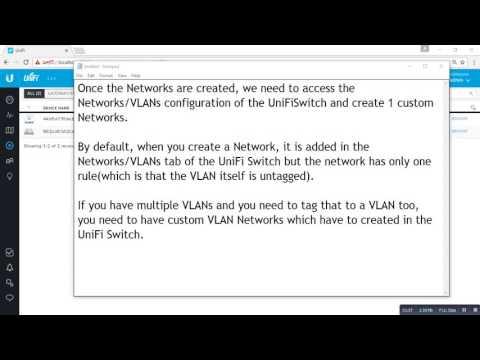 VLAN tagging on UniFi Switch - YouTube