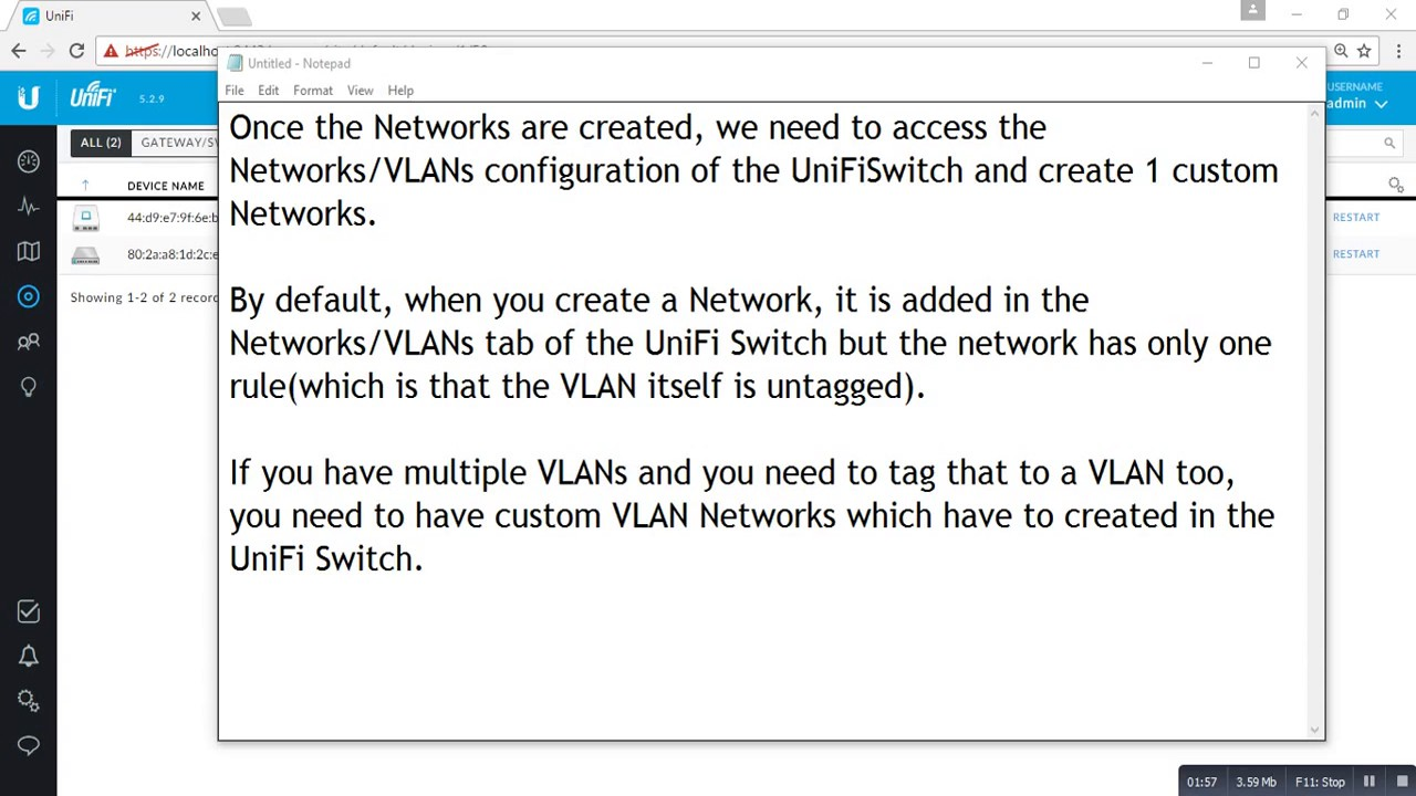 VLAN tagging on UniFi Switch