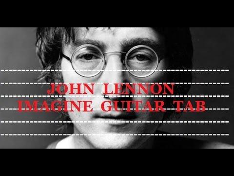 John Lennon - Imagine - Guitar Tab