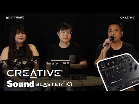 Creative Sound Blaster K3+ REVIEW/TEST