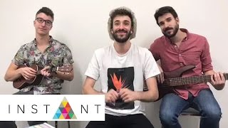 AJR Brothers Sing 'Come Hang Out', 'Weak' A cappella | Instant Exclusive | INSTANT