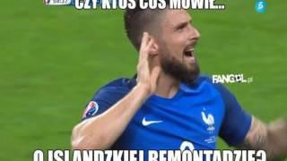 Memy po meczu Francja-Islandia 5-2