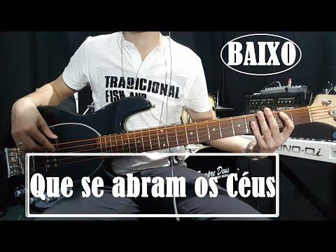 Que se abram os céus - Nívea Soares / Baixo cover + Improvisos
