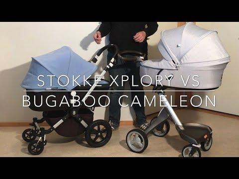 Bugaboo Cameleon VS Stokke Xplory: Mechanics, Comfort, Use