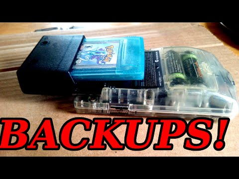 BackUp your Gameboy/ GBC games for Under $10!