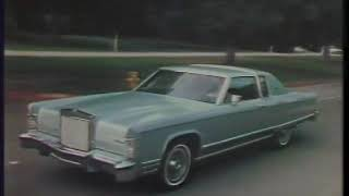 Lincoln Continental 1977 Commercial