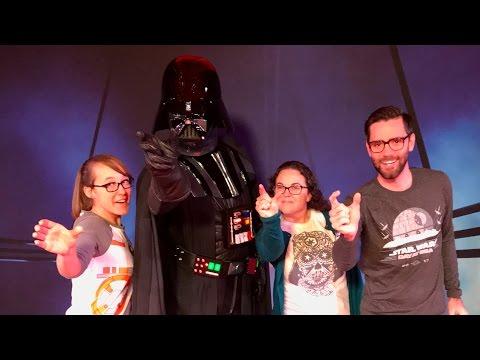 STAR WARS DAY AT SEA: Disney Cruise Line FANTASY 2017!
