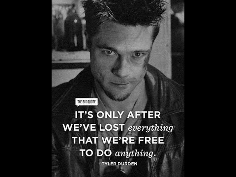 Fight Club - the big Quote