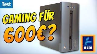 Gaming-PC für 600€? Was taugt der ALDI-PC Medion Akoya P56000?