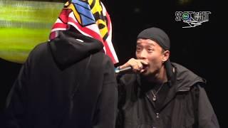 YouTube動画:CIMA vs JAKE / SPOTLIGHT 2018 MC BATTLE (2018年11月25日)