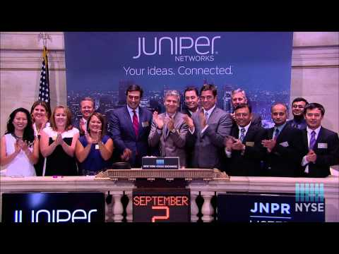 Juniper Networks Celebrates 15th Anniversary as a Publicly Traded Company