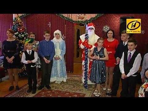 Дмитрий Лукашенко с семьёй посетил минский детский дом №6