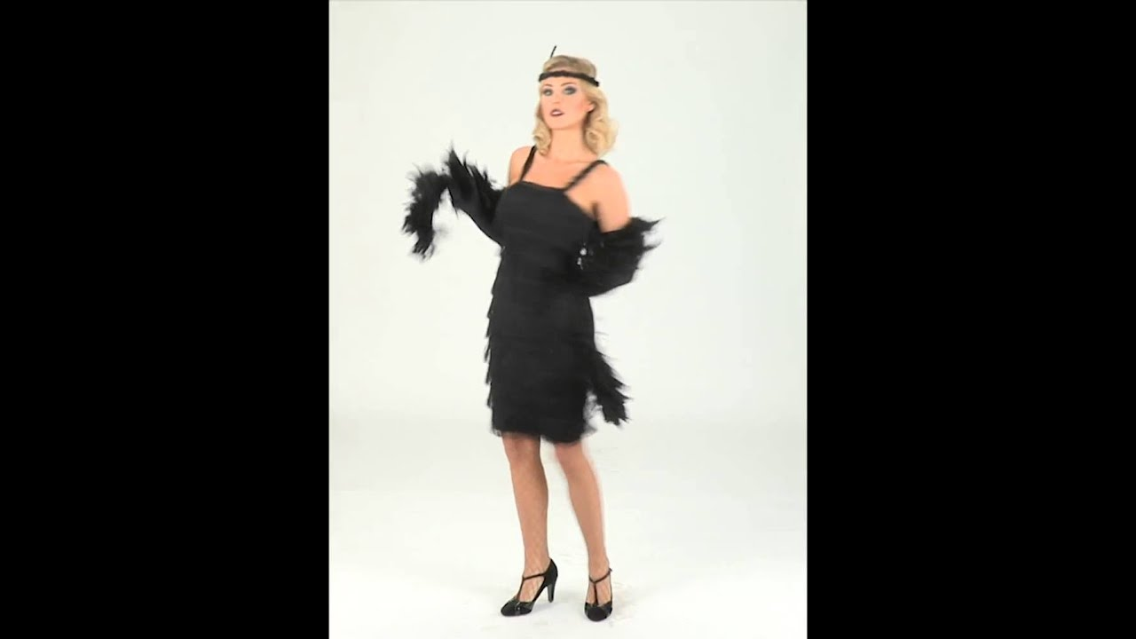 Black Red Feather Boa 80 G Clapet Saloon Burlesque