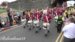 Clyde Valley F B A B O D 330th Ann Parade Londonderry 10 08 19