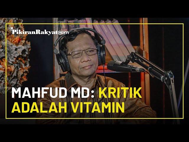 Banyak Kritikan, Jokowi Cabut Perpres Investasi Miras, Mahfud MD: Kritik adalah Vitamin Pemerintah
