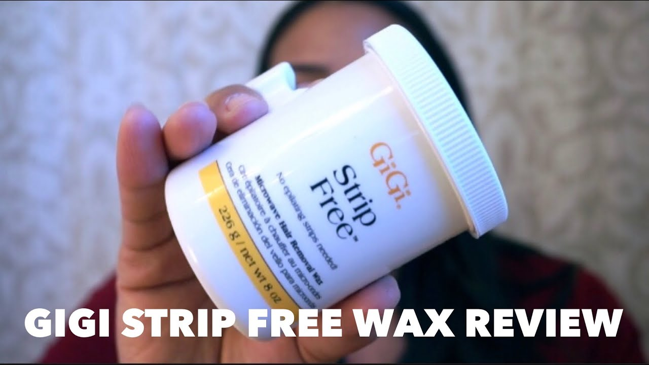 Gigi Strip Free Hair Removal Honey Wax Review Youtube
