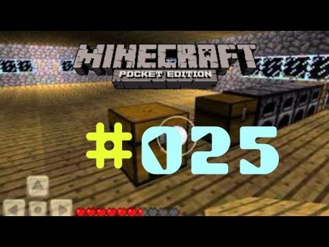 #025 Let's play Minecraft PE - UPDATE 0.4.0!