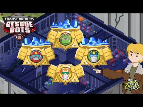 Transformers Rescue Bots: Hero Adventures   Complete Each Mission Successfully! By Budge Studios