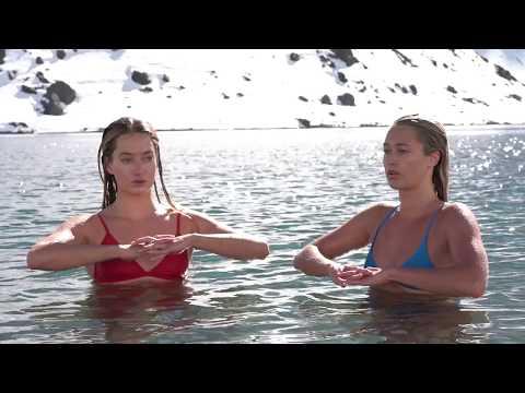 Sierra Quitiquit & Hayden Korte-Moore - Ice Plunge in Portillo