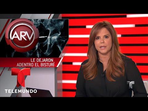 Dejan un bisturí en el abdomen de un veterano operado | Al Rojo Vivo | Telemundo