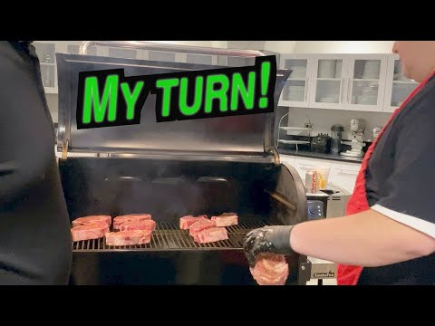 Weber SmokeFire Pellet Grill Grilling Steaks   Will It Sear? My First Cook