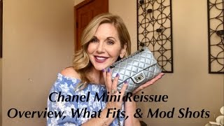 My Chanel Mini Reissue (size 224) - Overview, What Fits Inside, & Mod Shots