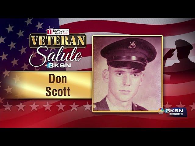 Veteran Salute: Don Scott