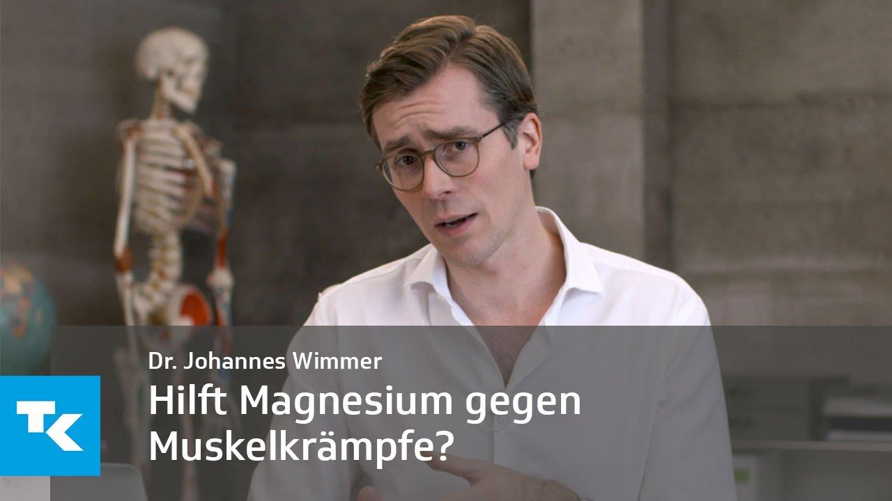 Hilft Magnesium gegen Muskelkrämpfe?   Dr. Johannes Wimmer