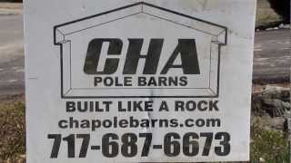 Updates New Project My Pole Barn  Garage  Rafters Cha Pole Buildings Pt 4