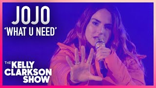 JoJo Performs 'What U Need' For Kelly Clarkson