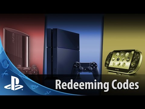 Redeeming Codes | PS4