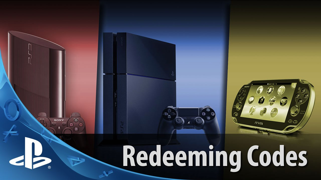 Redeeming Codes Ps4