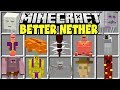 Minecraft BETTER NETHER MOD | NEW NETHER BOSSES, BIOMES, STRUCTURES & MORE!!