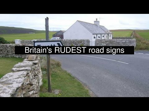 Britain's RUDEST road signs