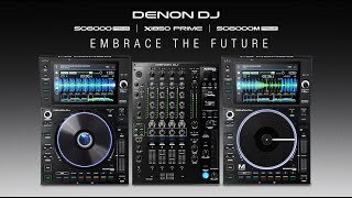 Introducing Denon DJ SC6000 + SC6000M Media Players