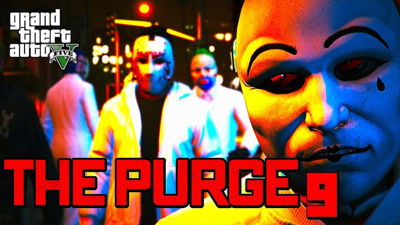Download GTA 5 ONLINE - THE PURGE 9