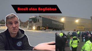A kamionos Brexit után Angliában-2021