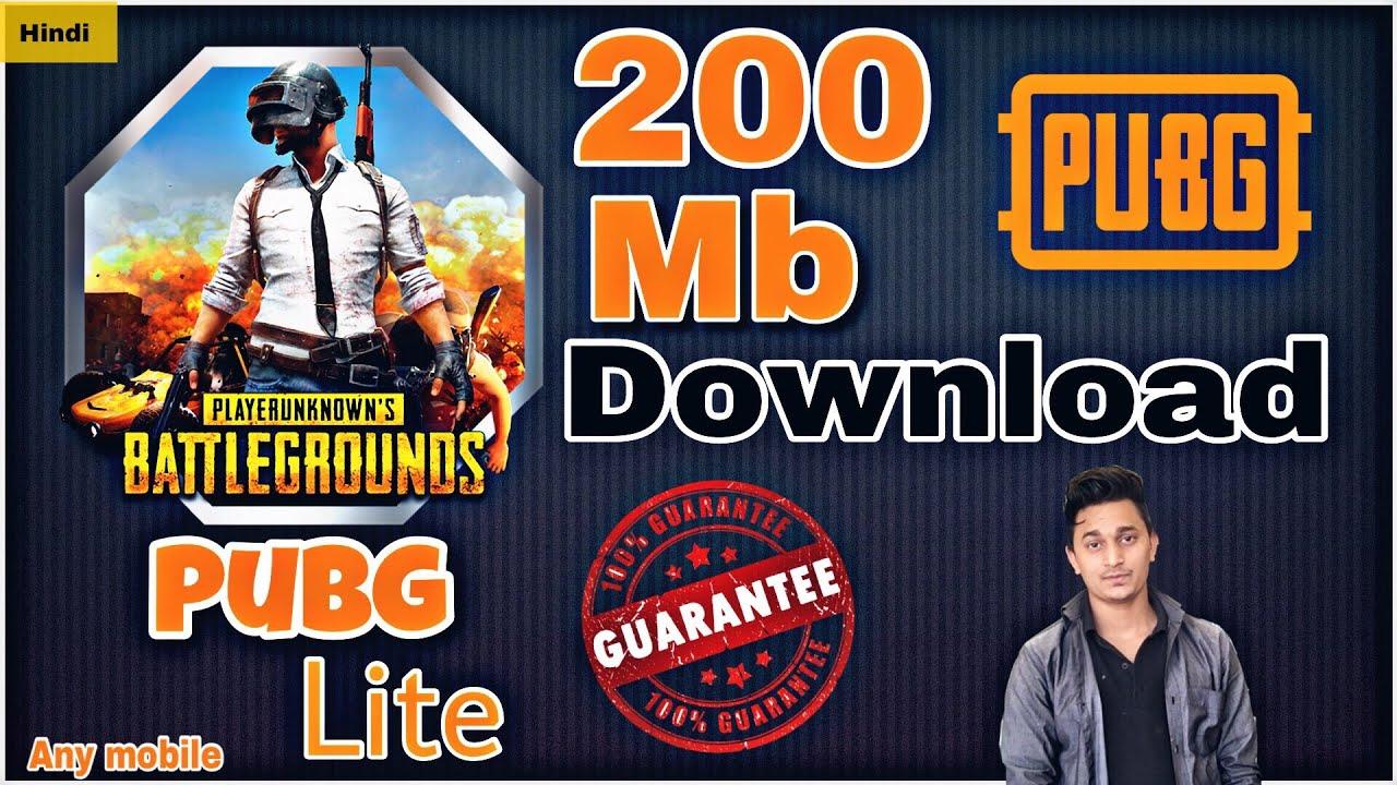 Pubg Lite How To Download Pubg Mobile Lite In India: How To Download Pubg Mobile Lite (in Hindi) // Download