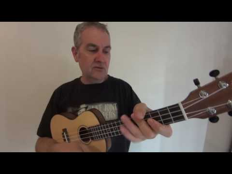 Wade In The Water Ukulele One Finger Chords Youtube