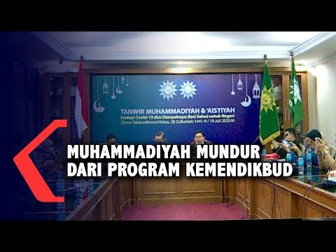 Penjelasan Muhammadiyah Mundur Dari Program Kemendikbud