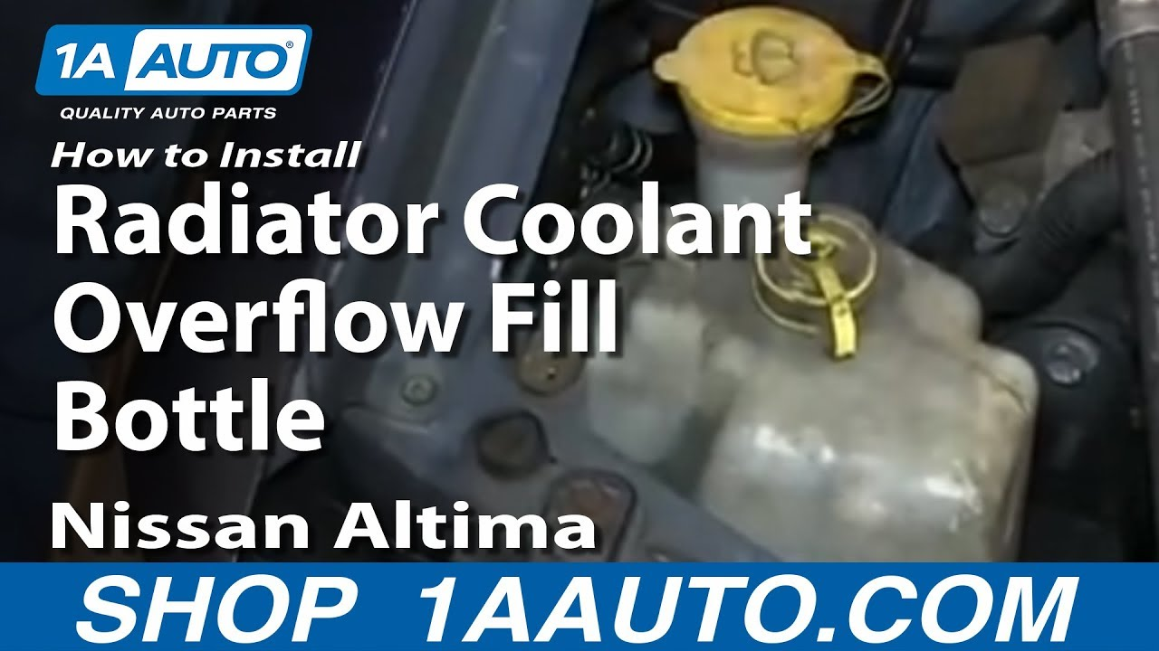 Nissan Maxima: Draining of coolant water