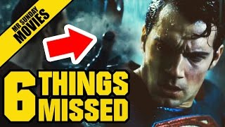 Watch BATMAN V SUPERMAN Final Trailer Easter Eggs, References & Things Missed