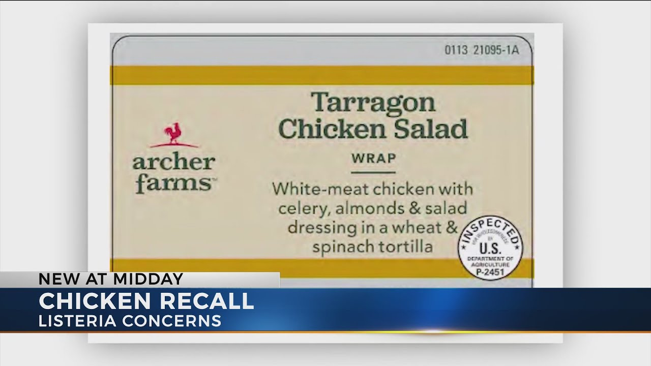 Chicken sold at Kroger, Aldi in Ohio part of nationwide recall due to  possible listeria contaminatio