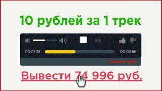 Опционы сегодня Сервис активного заработка на прослушивании аудио файлов