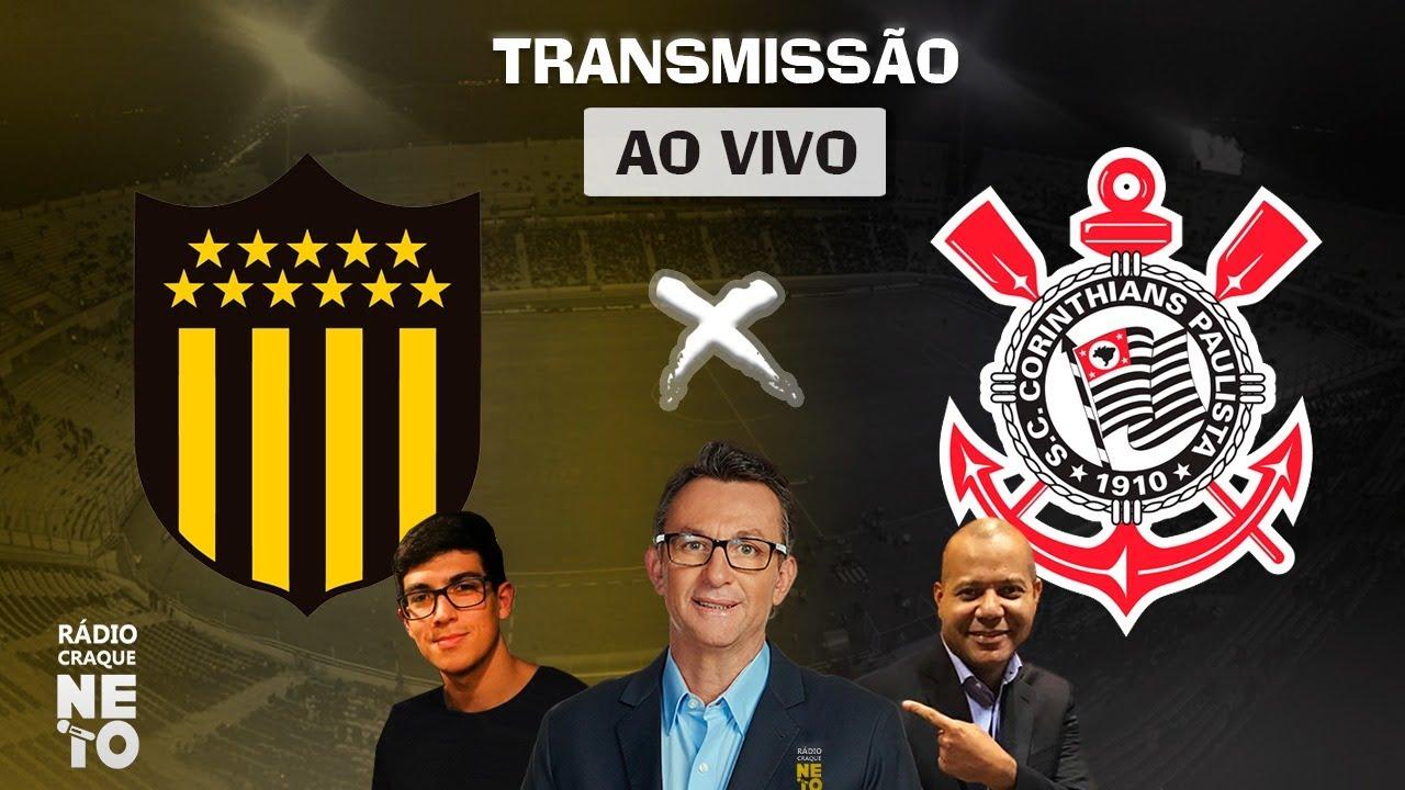 Peñarol (URU) x Corinthians | AO VIVO | Copa Sul-Americana 2021 | Rádio Craque Neto