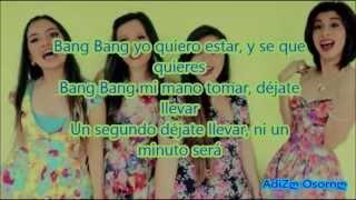 Bang Bang Jessie J, Ariana Grande, Nicki Minaj (Versión En Español) LETRA