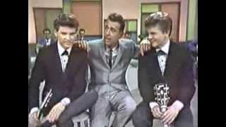 Everly Brothers in color with Tennessee Ernie Ford 4/13/61