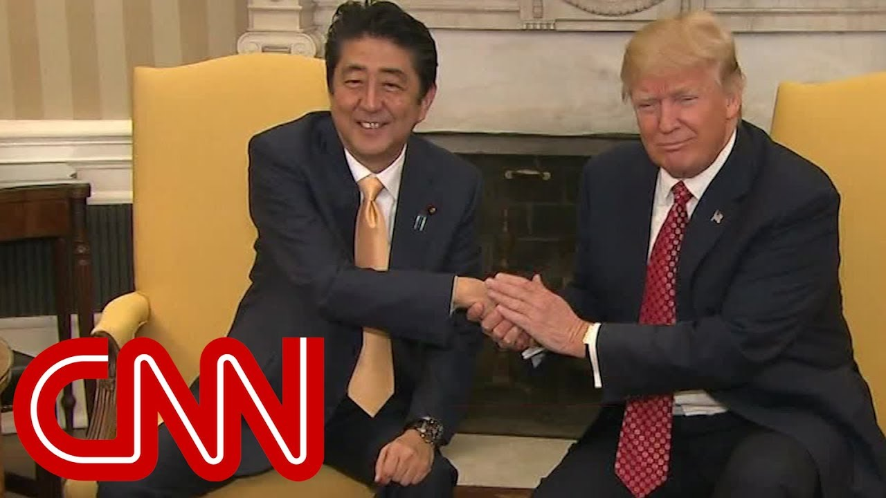 maxresdefault trump's awkward handshakes with world leaders youtube