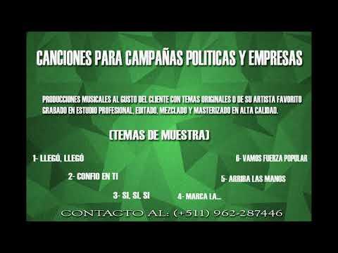 CANCIONES PARA CAMPAÑAS POLITICAS IM Music