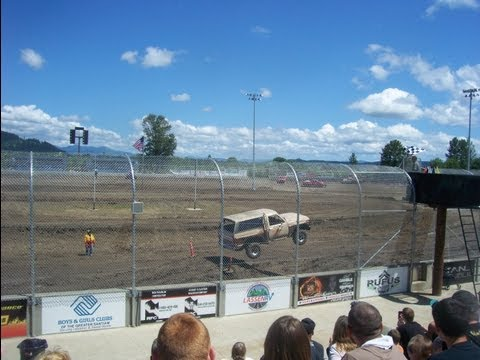 Tuff truck 2012 Willamette speedway
